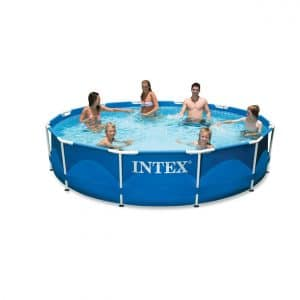 """Intex 12' x 30"""" Swimming Pool with a Filter Pump"""