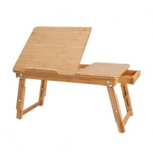 SONGMICS Multi-Functional Bed Tray Table