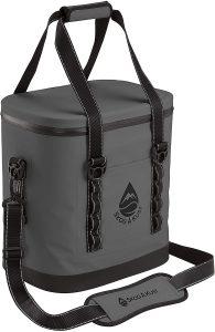 Skog Å Kust ChillSåk Airtight & Leakproof Soft Cooler Bags | Flip 24 Can Size Dark Grey