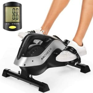 ANCHEER Desk Pedal Exerciser with LCD Monitor