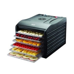 Aroma Housewares Professional Food Dehydrator, Black