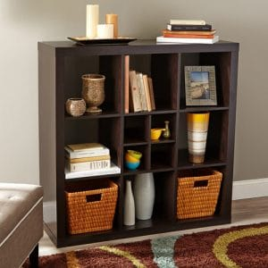 Better Homes 9-Cube Versatile Organizer Storage Bookcase