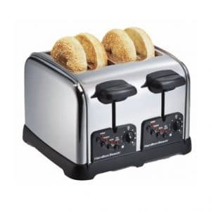 Hamilton Beach (24790) Classic Chrome 4 Slice Toaster