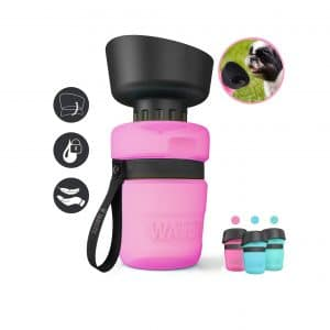 Lesotc Pet Water Foldable Pet Water Bottle