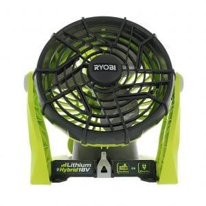 Ryobi 18-Volt Hybrid Fan, P3320