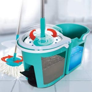 Spin Matic Floor Cleaning System Spin Mop Bucket