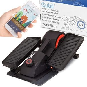 Cubii Pro Desk Bluetooth Enabled Exercise Bike