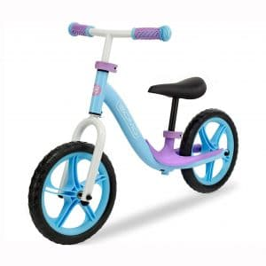 GOMO Balance Bike - Toddler Training Bike for 18 Months, 2, 3, 4 and 5 Year Old Kids - Ultra Cool Colors Push Bikes for Toddlers No Pedal Scooter Bicycle