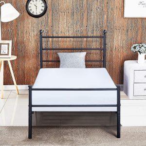 VECELO Reinforced Metal Bed Frame