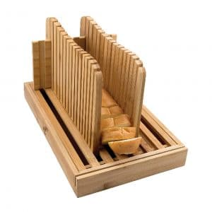 1st Place Products Premium Bamboo Bread Slicer