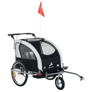 Aosom Elite II 3-in-1 Child Cycle Trailer