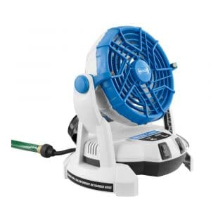 Arctic Cove 18-Volt Bucket Top Misting Fan