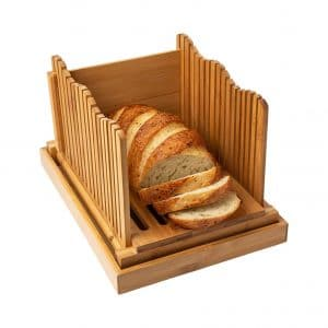 Comfify Bamboo Bread Slicer