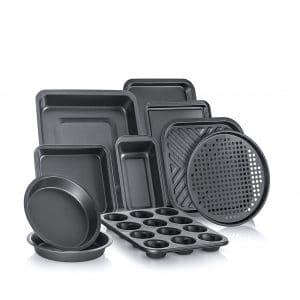 Perlli Complete Bakeware 10-Piece Set