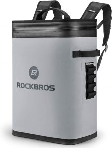 ROCK BROS Backpack Cooler Leak-Proof Soft Sided Cooler Waterproof Insulated Backpack Cooler Bag 36 Can Soft Cooler for Camping, Fishing, Party, Outdoor Adventure