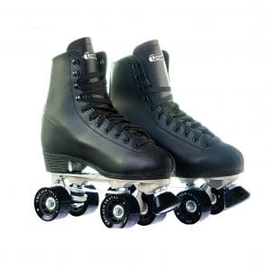 Chicago Skate Leather Lined Rink Black Roller Skate for Men