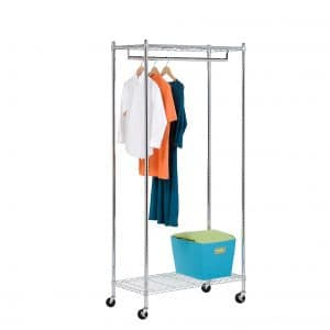 Honey-Can-Do Heavy Duty Rolling Garment Rack