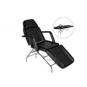 Mefeir Adjustable Portable Massage Table PVC Leather Facial Esthetician Bed