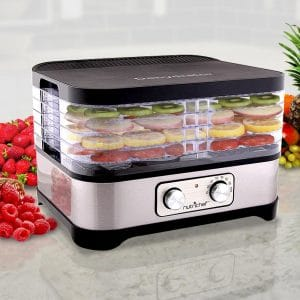 NutriChef Multi-Tier Dehydrator Machine – 250 Watt
