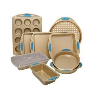 Perlli 10 Pieces Nonstick Carbon Steel Bakeware Set