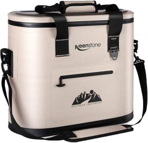 Soft Cooler Bag Insulated Soft Sided Cooler Portable Leakproof Cooler for Food Wine Ice Drinks, 36 Can Large Deep Coolers