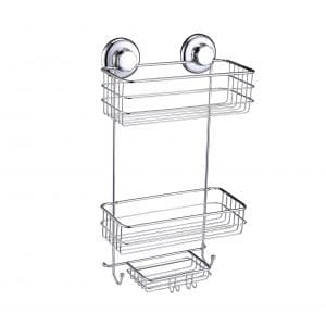 HASKO Accessories Suction Cup Shower Caddy