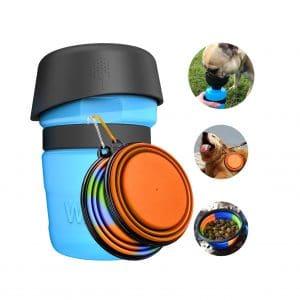 Lesotc Dog Water Bottle Bowl