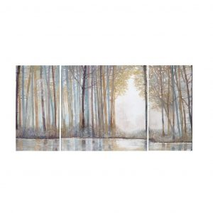 Madison Park Forest Reflections Modern or Contemporary Landscape Canvas Wall Art