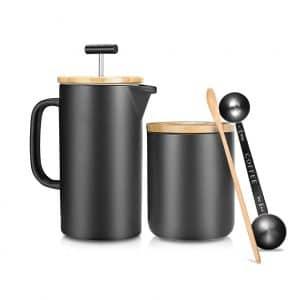 NEOCASA Ceramic French Press Coffee Maker