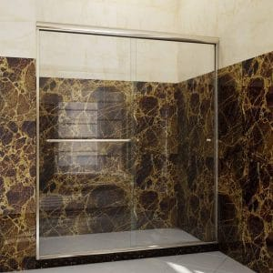 Sunny Shower Semi-Frameless Shower Door