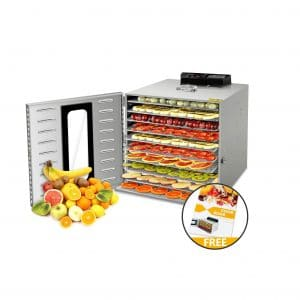VVinRC Commercial Stainless Steel Food Dehydrator