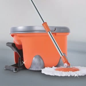 Arevo Rocket Bucket and Wet Spin Mop