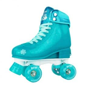 Glitter POP Adjustable Quad Roller Skates from Crazy Skates