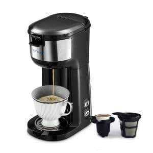 HAMSWAN Single Serve Coffee Maker