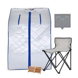 KUPPET Portable Infrared Home Spa Portable Sauna