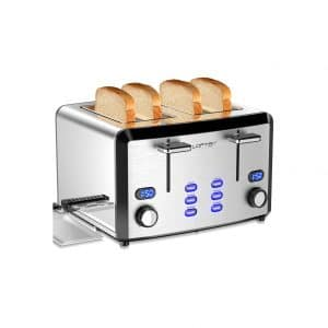 LOFTer 4 Slice Mirror Stainless Steel Toaster