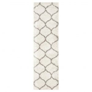 9. Safavieh Hudson 2'3' x 6' Shag Collection Moroccan Ogee Area Rug