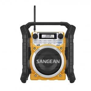 Sangean Rechargeable Digital Turning Radio