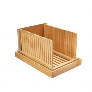 Swacole Bamboo Bread Slicer