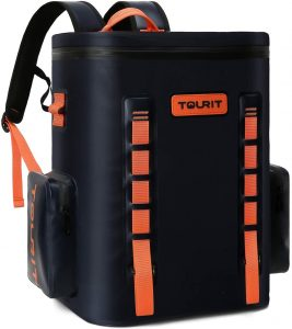 TOURIT Leak-Proof Soft Sided Cooler Backpack Waterproof Insulated Backpack Cooler Bag Large Capacity Backpack with Cooler for Men Women to Picnics, Camping