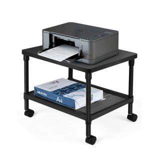 Tanguka Printer Stand 2-Tiers Under Desk Printer Cart