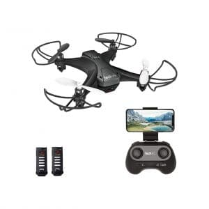Tech rc Mini Drone with Camera 2 Batteries