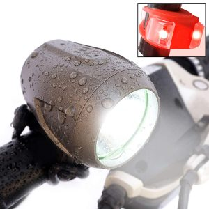 Bright Eyes Upgraded 1200 Lumen Rechargeable Headlight Road Bike light Free TAILLIGHT/Diffuser Lens