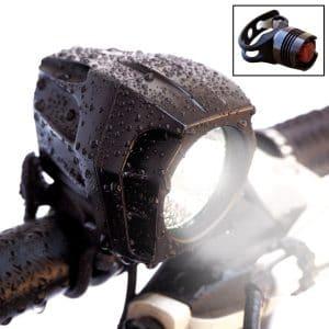 Bright Eyes1600 Lumen Headlight & Free taillight bike light