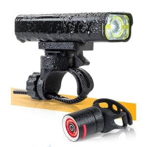 BrightRoad Tail Light 800 Lumens Rechargeable Light Set