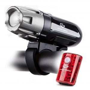 Shark 550R Bicycle Light Set by cycle Torch