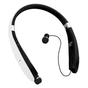 Bluetooth Headphones, Wireless Bluetooth Headset, Wireless Foldable Retractable Headset with Neckband Design Compatible for X:8:7 Plus S9 Note 8