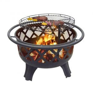 "Catalina Creations 29.5"" Crossfire Fire Pit"