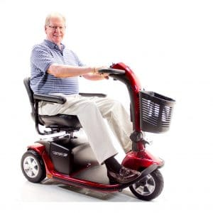 Challenger Mobility 10 Pride 3-Wheel Electric Scooter