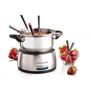 Nostalgia FPS200 Stainless Steel6-Cup Electric Fondue Pot